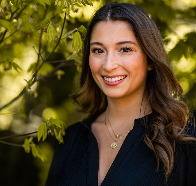 Image is of Layla Khademi '20, MS in Real Estate student