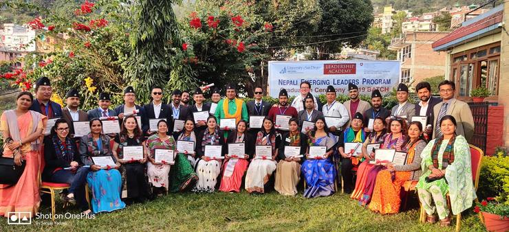Nepali Emerging Leaders Program Graduation