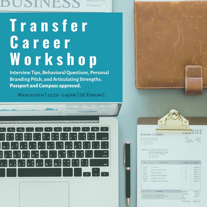 Transfer Career Workshop