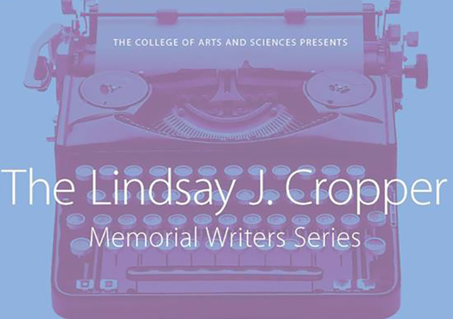 Cropper Writers Series 2017-18