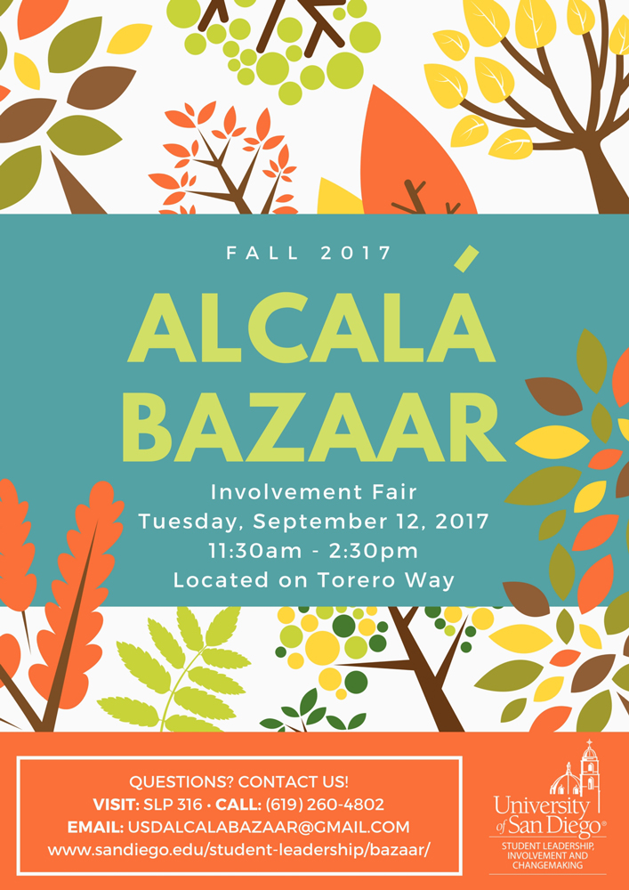 Alcalá Bazaar Flyer
