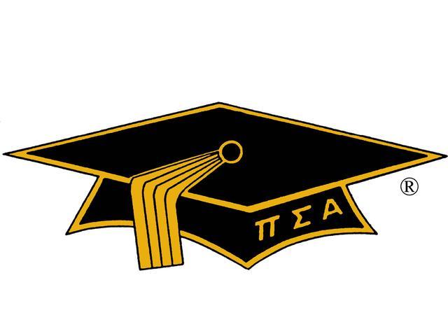 Mortar Board logo graduation cap with greek letters