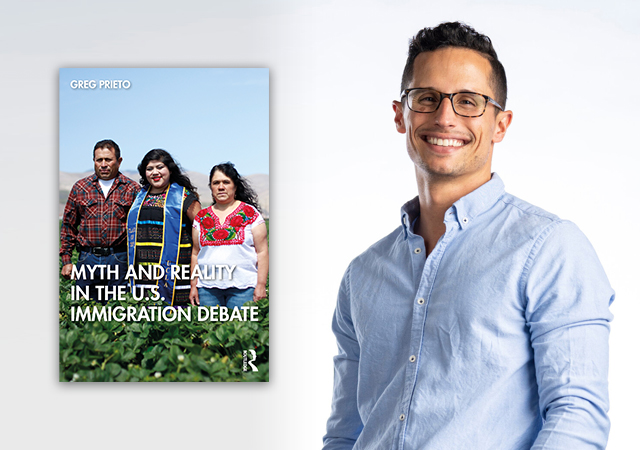 Greg Prieto and his new book on the U.S. immigration debate