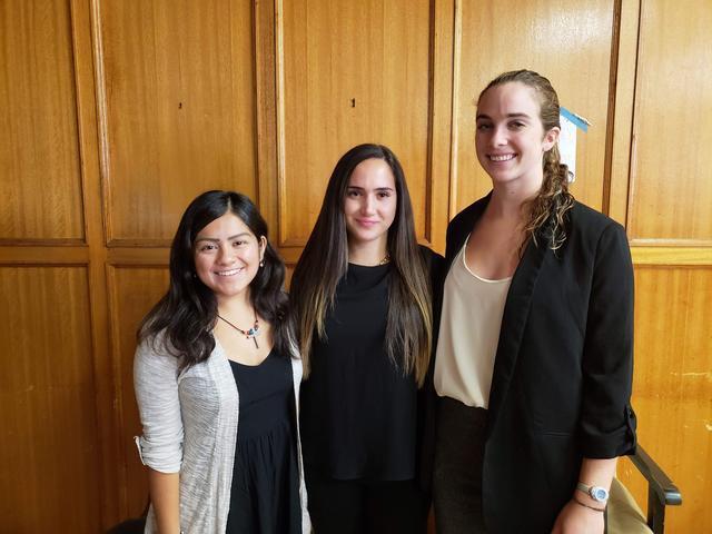 Michael Harris Student Colloquium Speakers: Elizabeth Petty (left)