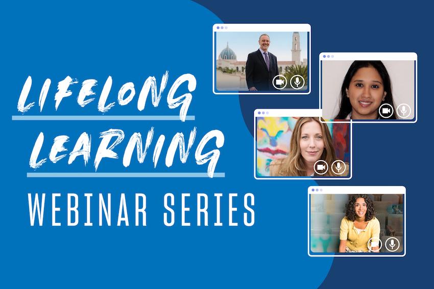 Lifelong Learning Webinar Series