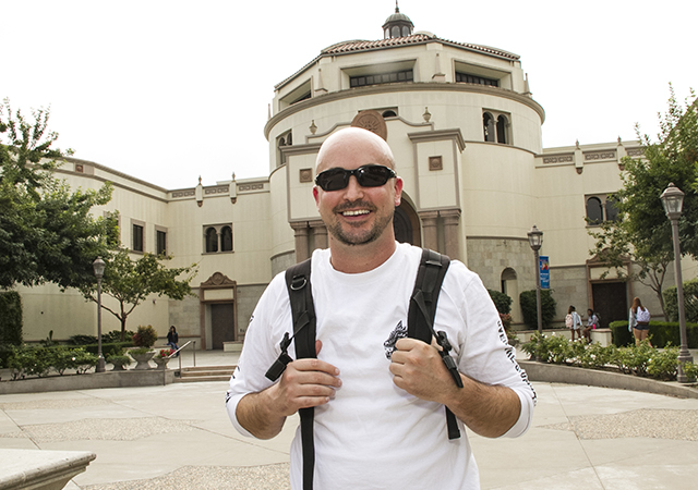Glenn Hyzak, MSCMR student