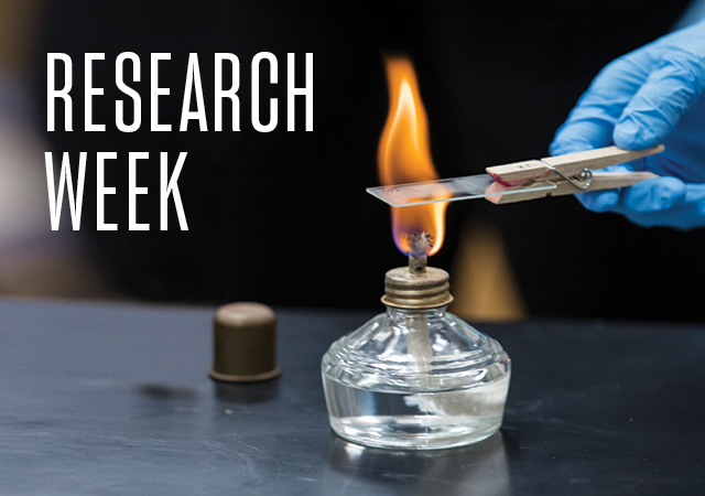 Research Week at USD April 20-24