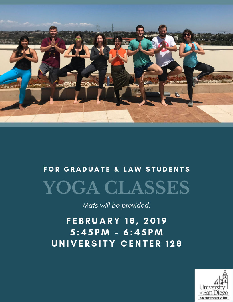 Flyer for Yoga