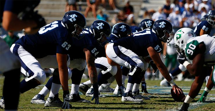 The USD football team will line up and play against longtime Pioneer Football League foe Dayton in today's 2 p.m. Homecoming game at Torero Stadium.