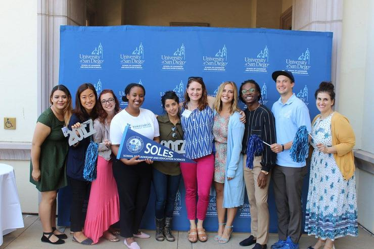 Picture of our SOLES Student Ambassadors
