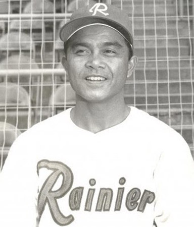 Photo of baseball player Bobby Balcena, who is part of the AAPIDA community