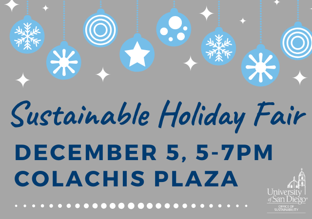 Sustainable Holiday Fair Thurs Dec 5, 5-7 @ Colachis Plaza