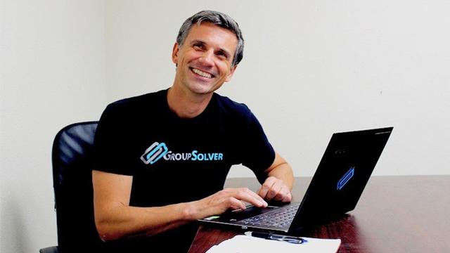 Rasto Ivanic, president and CEO at GroupSolver