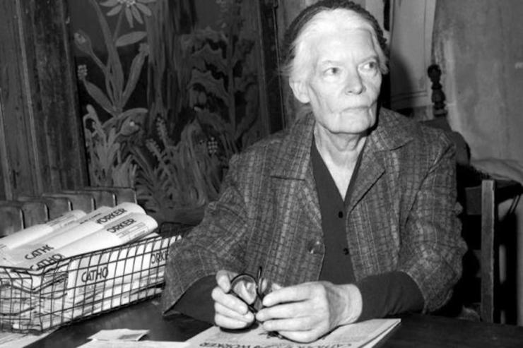 dorothy day black and white image