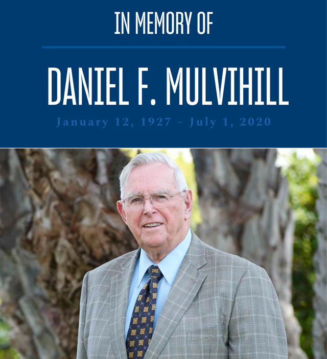Photo is of Daniel F. Mulvihill