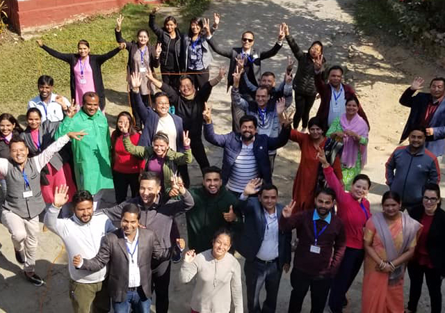 2020 Cohort of the Nepali Emerging Leaders Program
