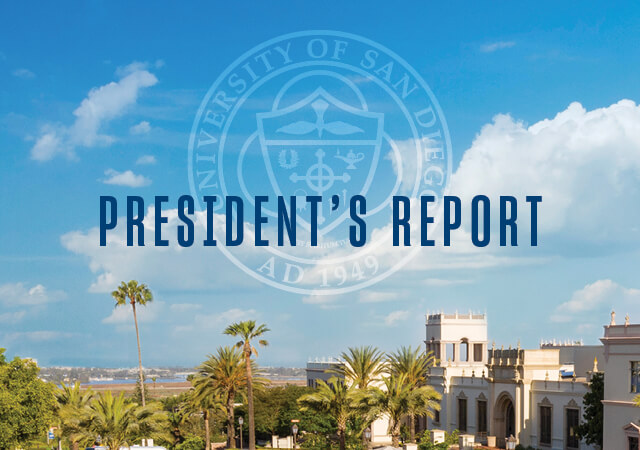President's Report 2019 cover