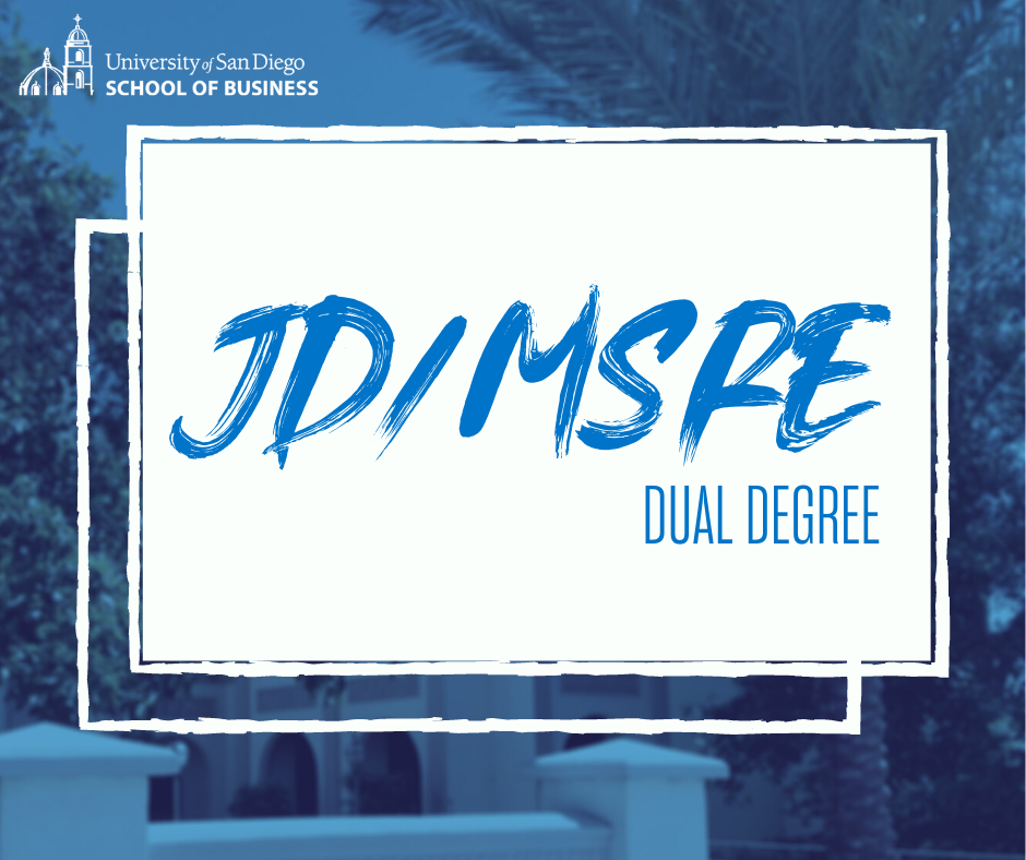 JD/MSRE Dual Degree