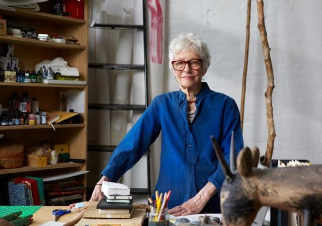 2018 Kyoto Prize Laureate Ms. Joan Jonas