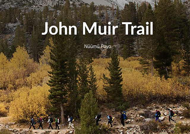 OA's JMT Virtual Hiking challenge