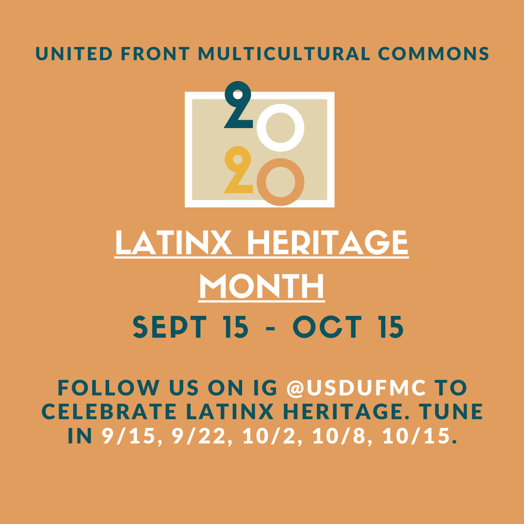 UFMC Latinx Heritage Month Celebration