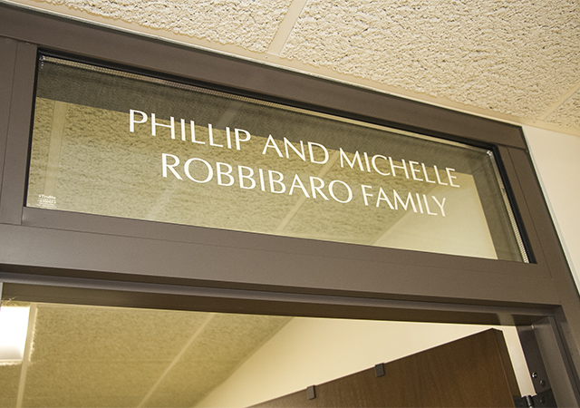 Robbibaro Engineering Donation Naming