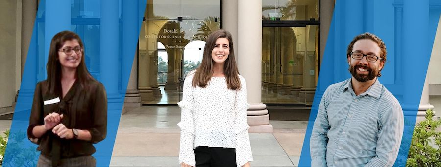 The Brink Junior Consultant and USD business graduate student, Yasmine Kalhor