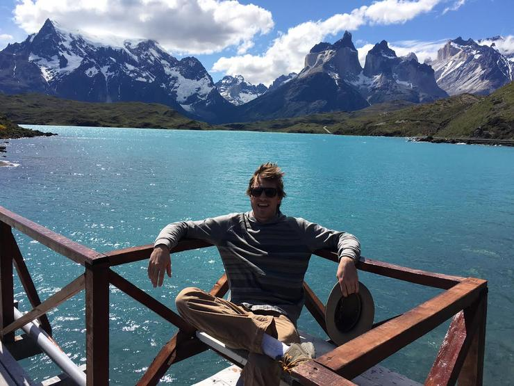 History Alumnus, Ryan Lee, in Argentina