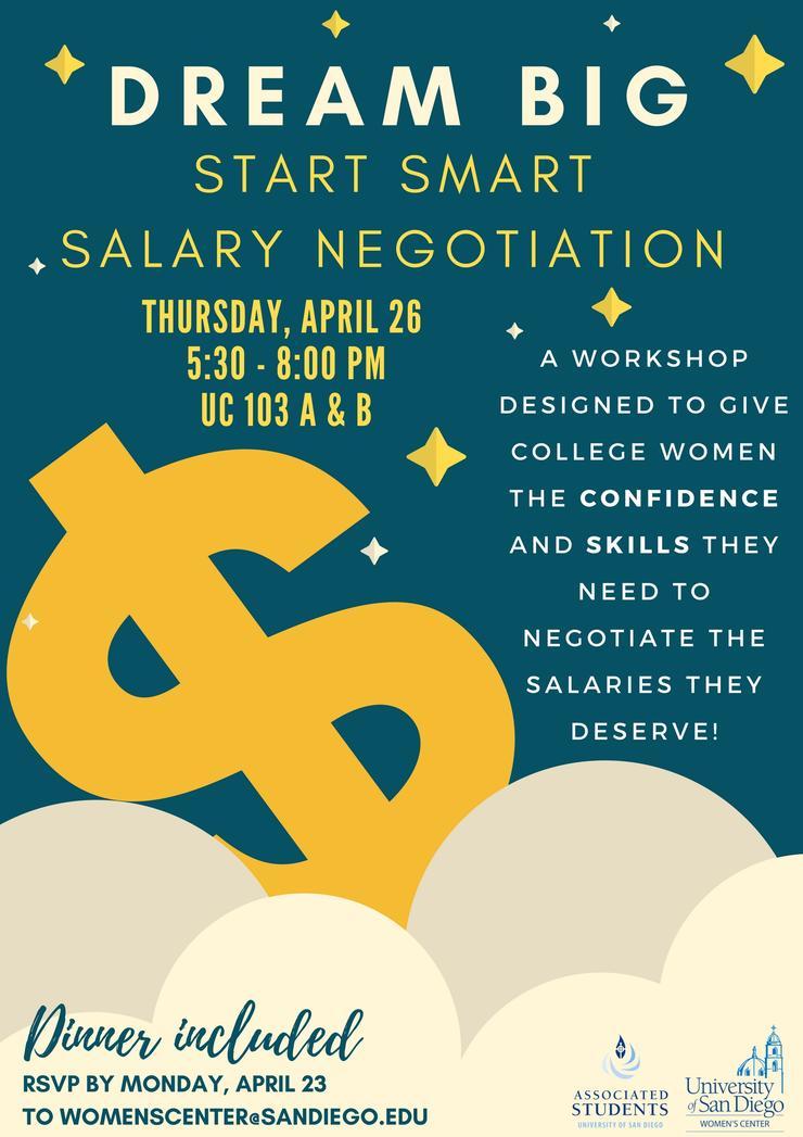 Dream Big! Start Smart Salary Negotiation