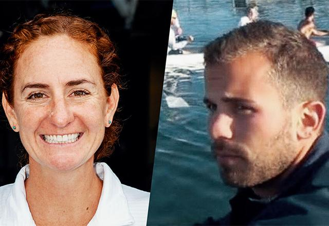 New Rowing head coaches: Stesha Carlé (W) and Ben Hise (M).