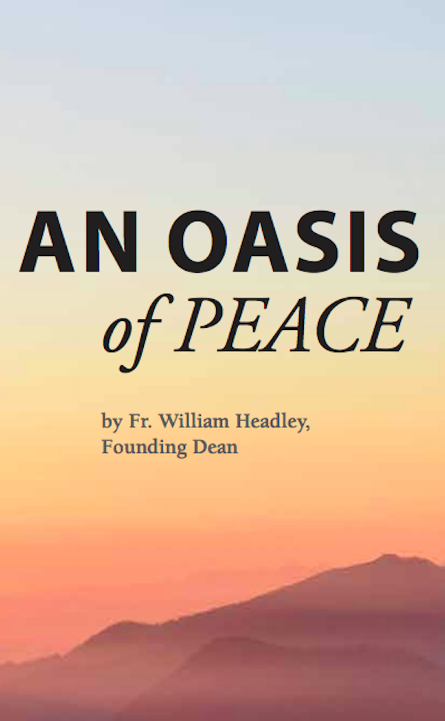 An Oasis of Peace