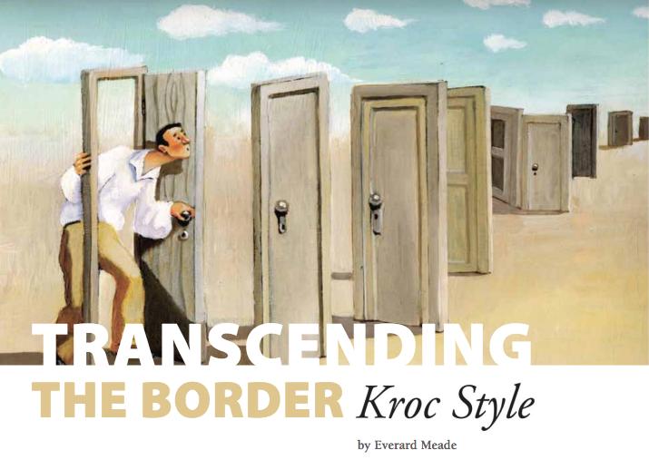Transcending the Border Kroc Style