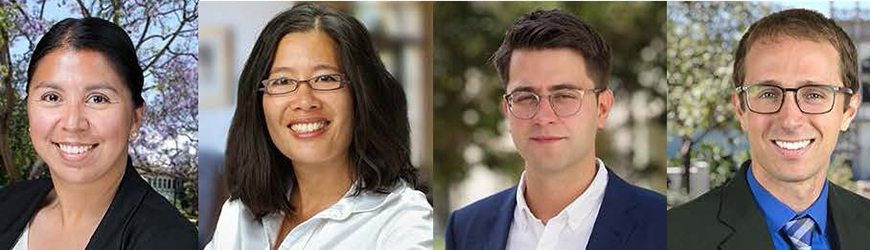 Josh Della Vedova, Janel Ortiz are two of four USD faculty to receive CDev recognition.