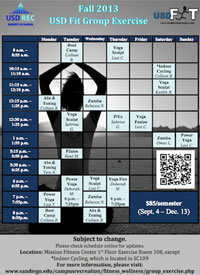 Group Exercise Schedule