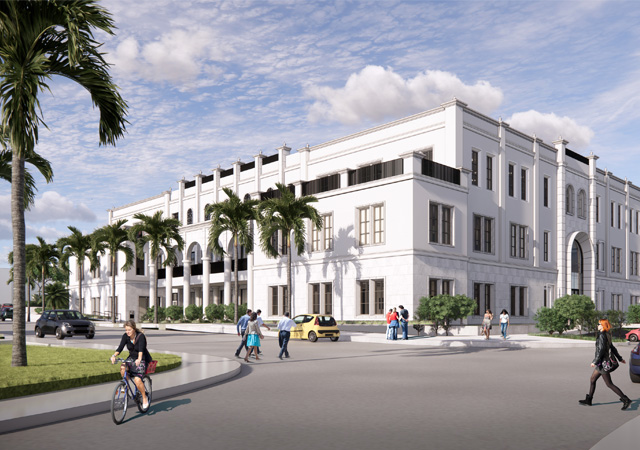 Knauss Center for Business Education rendering