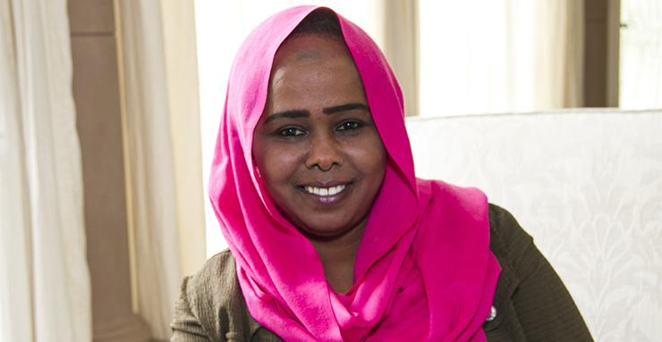 Meet and learn about 2018 Women PeaceMakers cohort member Amira Abdulrahman Hussein Timan from Sudan.