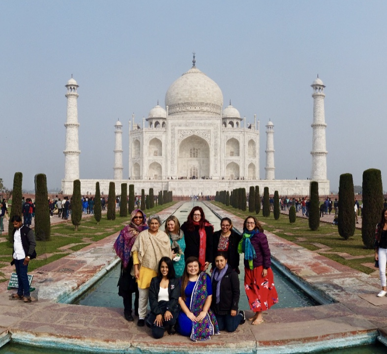 SOLES graduate students in India