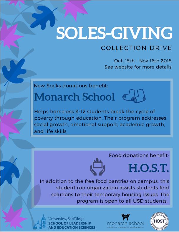 SOLES-Giving Flyer