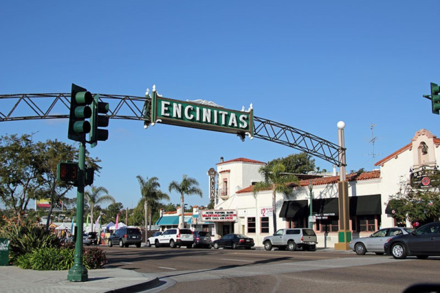 City of Encinitas sign
