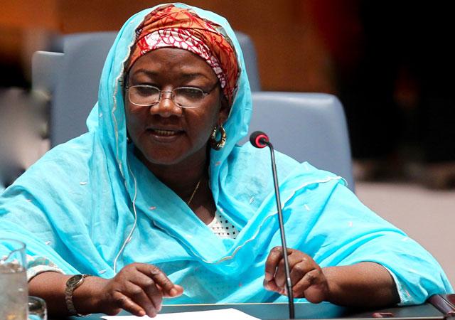 Hamsatu Allamin at UN