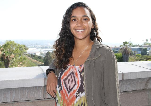 Janaye Perry, USD student and Hansen Summer Institute participant