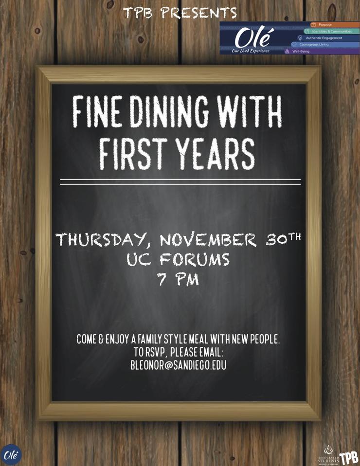Fine Dining Flyer
