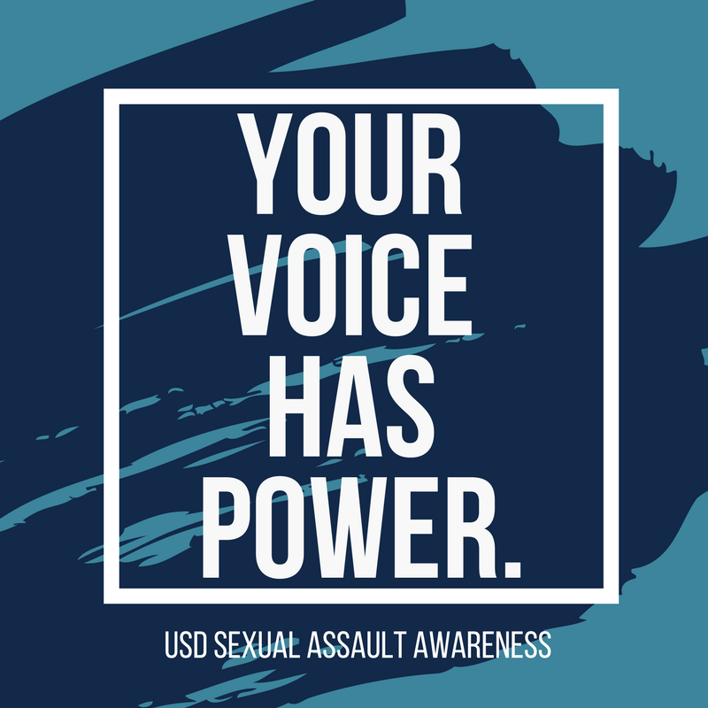 Your Voice Has Power - Sexual Assault Awareness Week