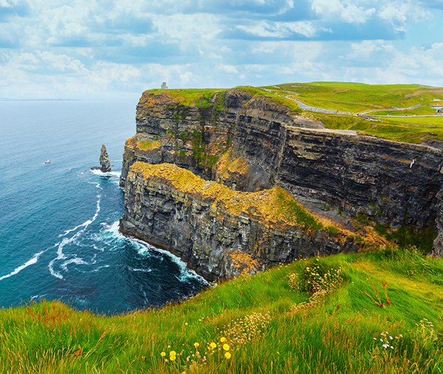Irish Cliffside