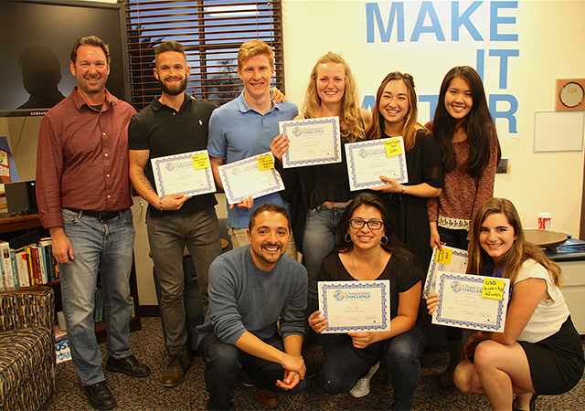 Changemaker Challenge winners, Fall 2016