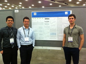 USD students at American Physics Society