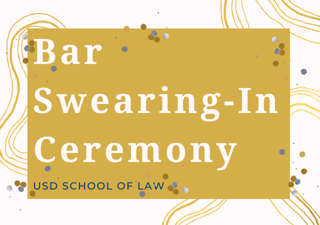 Bar Swearing-In Ceremony