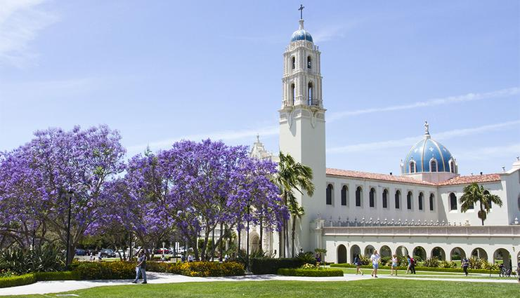 The traditional last event to recognize the start of the fall semester at the University of San Diego took place on Thursday inside The Immaculata: The Mass of the Holy Spirit.