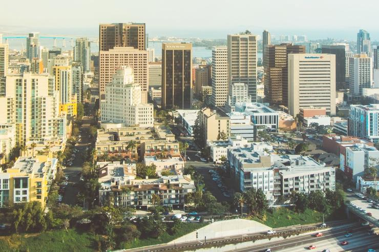 Downtown San Diego Highrise Buildings