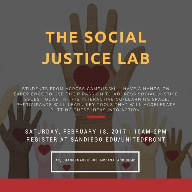 Social Justice Lab Flyer